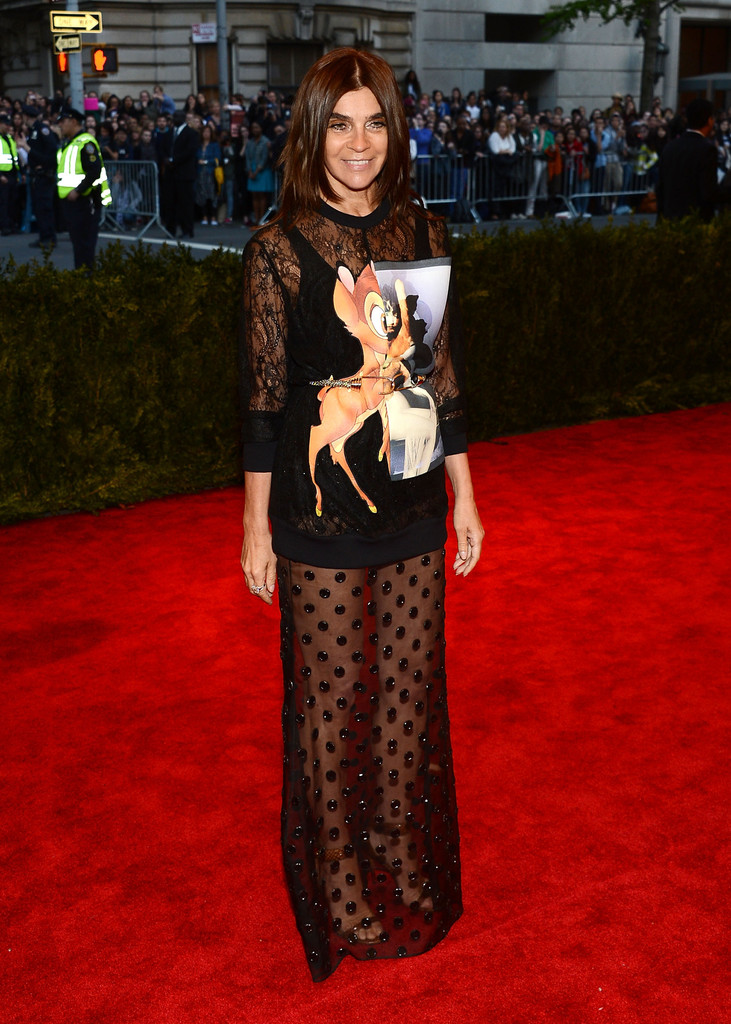 Carine+Roitfeld+Red+Carpet+Met+Gala+2013+Trendy+Jungle