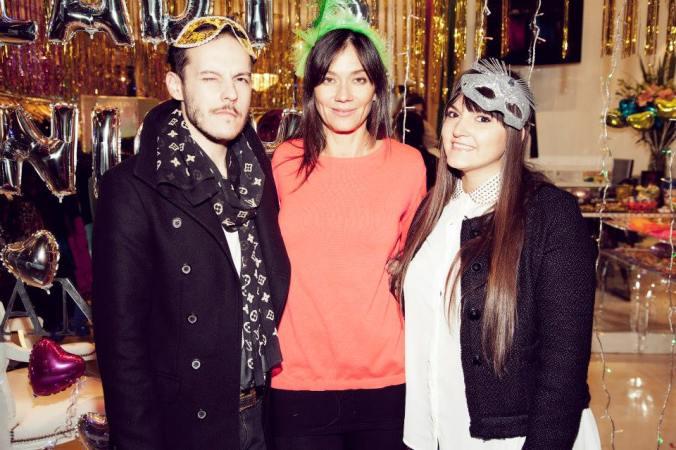 Con Naty y mi querido colega Maxx Viñals