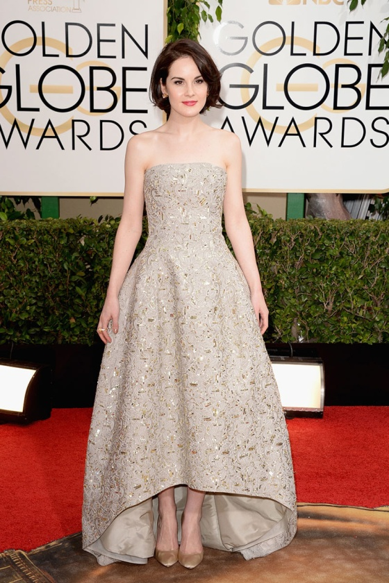 michelle_dockery_oscar_de_la_renta_golden_globe_2014_trendy_jungle