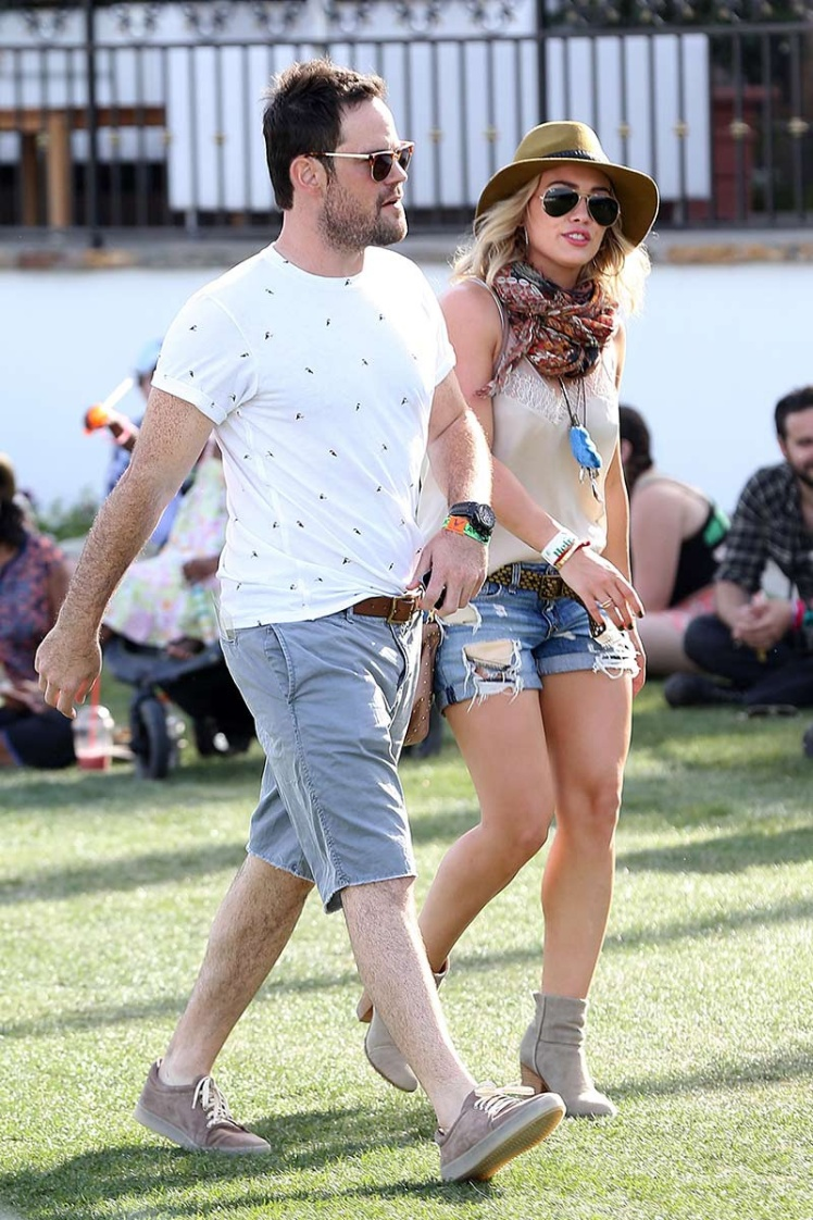 Hillary Duff y Mike Comrie