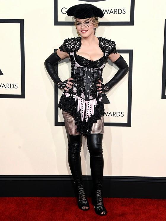 Madonna por Givenchy